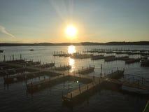 Ozark Missouri del lago Fotografía de archivo