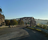 Ozark Mountain Bridge over Swan Creek Stock Image