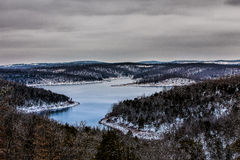 Ozark mountains stock image