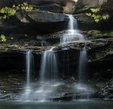 Ozark Wasserfall Lizenzfreie Stockbilder