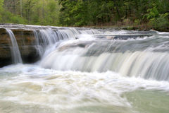 Ozark waterfall Royalty Free Stock Photo