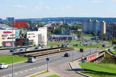 Ozas schopping center in Vilnius city Stock Images