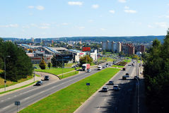 Ozas schopping center in Vilnius city Royalty Free Stock Image