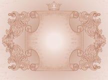 Ozdobna antyczna ślimacznica Obrazy Stock