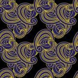Ozdobna deseniowa bezszwowa tekstura. Wektorowy illustration/EPS 8 Obraz Stock