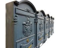 ozdobne armorials skrzynka pocztowa Obrazy Royalty Free