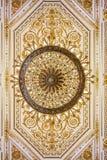 Ozdobny świecznik w eremu muzeum sztuki i kultura w Świątobliwym Petersburg, Rosja w zima pałac obrazy stock