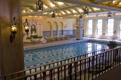 Ozdobny basen, Międzykontynentalny Hotel, Chicago Obraz Royalty Free
