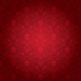ozdobny deseniowy czerwony bezszwowy Obraz Royalty Free