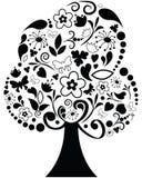 ozdobny drzewo Obraz Royalty Free