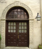 Ozdobny drzwi Alamo misja w San Antonio, Teksas zdjęcia royalty free