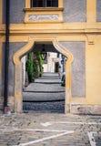 Ozdobny drzwi Austria obrazy stock
