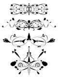 ozdobny elementu set royalty ilustracja