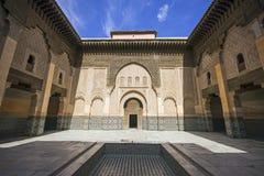 Ozdobny Marokański budynek Zdjęcie Stock