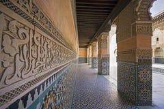 Ozdobny Marokański budynek Zdjęcia Stock
