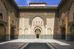 Ozdobny Marokański budynek Zdjęcie Royalty Free