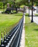 Ozdobny ogrodzenie wokoło Teksas stanu Capitol Obrazy Stock