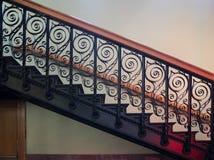 Ozdobny schody obrazy stock