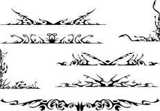 ozdobny ustalony plemienny royalty ilustracja