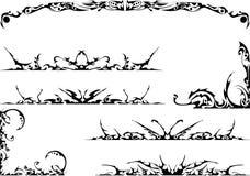 ozdobny ustalony plemienny ilustracja wektor