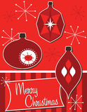 ozdoby świąteczne światła Zdjęcia Stock