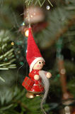 ozdoby świąteczne drzewko Obraz Stock