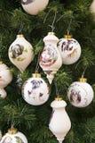 ozdoby świąteczne drzewko Zdjęcia Royalty Free