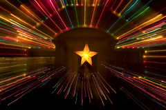 ozdoby świąteczne lampki Zdjęcie Stock