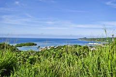 Ozean-Ansicht Stockfoto