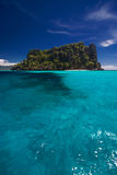 Ozean-Ansicht des Inselparadieses Lizenzfreies Stockfoto