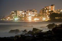 Ozean-Ansicht-Hotel-Rücksortierung Stockfotos