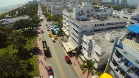 Ozean-Antriebs-Miami Beach-Antennenvideo stock video footage