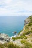 Ozean-Ausblick Bass Strait Tasmania Lizenzfreie Stockfotos