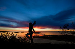 Ozean-Beifall lizenzfreie stockfotografie