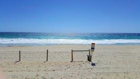 Ozean-Blau-Schatten Lizenzfreies Stockfoto