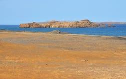 Ozean der kleinen Insel getrennt Lizenzfreie Stockbilder