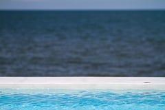 Ozean-fast Pool Stockbild