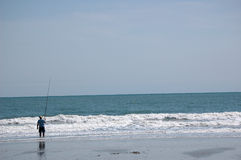 Ozean-Fischen Stockbild