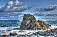 Ozean-Flusssteine stockbilder