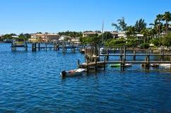 Ozean Front Community Stockbilder