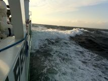 Ozean-Härte lizenzfreie stockfotos