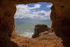 Ozean-Höhle stockfotos