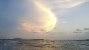 Ozean-Landschaft, Wasser-Landschaft stockbild