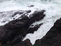 Ozean lassen weiden Stockbild