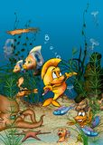 Ozean-Leben Lizenzfreies Stockbild
