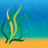 Ozean-Luftblasen Lizenzfreies Stockfoto
