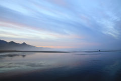 Ozean-Morgen Stockfotos