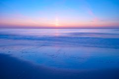 Ozean nachts Lizenzfreies Stockfoto