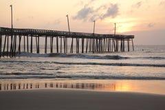Ozean-Pier Stockfotos