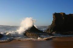 Ozean in Portugal Stockfotos